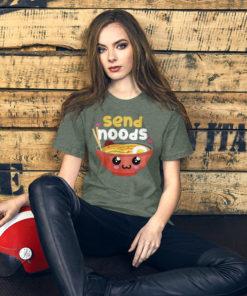send noods t shirt