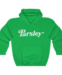 Parsley lit it vibe on the side unisex hoodie