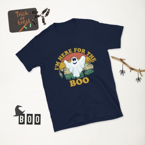 I'm here only to boo Halloween T-shirt