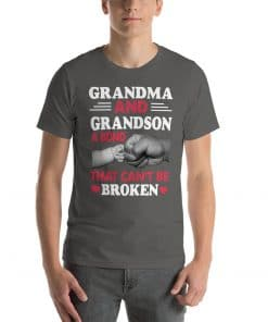Grandma and grandson a bond that can't be broken tshirt This t-shirt design is everything you've dreamed of and more